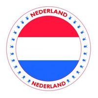 Bierviltjes Nederlands thema print