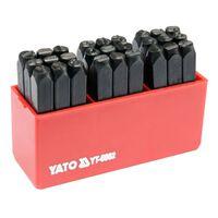YATO Letterstempels 27 st 6 mm