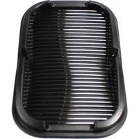 antislip opbergvak en houder 15 x 10 cm kunststof zwart