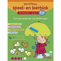 Deltas educatief speel- en leerblok Teloefeningen 21 cm