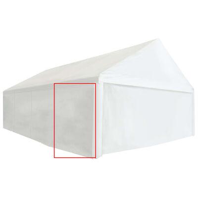 vidaXL Partytent zijpaneel 550 g/m² 2x2 m PVC wit