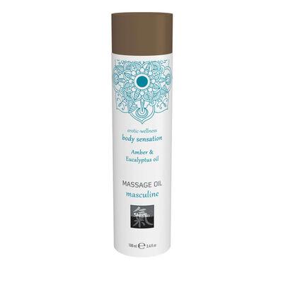 Masculine Massage Olie - Amber & Eucalyptus