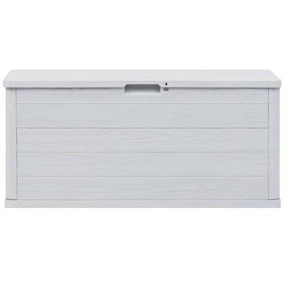 vidaXL Tuinbox 280 L lichtgrijs