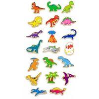 Viga Toys dinosauriër magneten: 20-delig