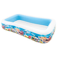 Intex Familezwembad Swim Center oceaanleven ontwerp 305x183x56 cm