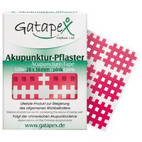 Gatapex acupunctuurpleister raster 2,8 x 3,6 cm roze