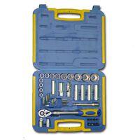 Kinzo ratelsleutel en bit set met gereedschapskist (41 stuks)