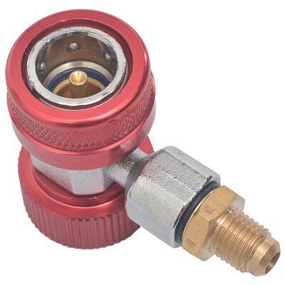 vidaXL Snelkoppelingsadapters koelkast 2 st