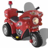 Speelgoedmotor op batterijen (Rood)