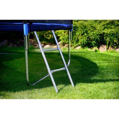 Viking Sports Trampoline blauw 374 cm met net en ladder tot 150 KG