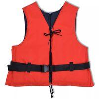vidaXL Zwemvest 50 N 90+ kg rood