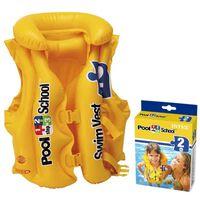 Geel Kinder zwemvest