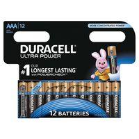 Duracell Alkaline batterijen AAA Ultra Power 12 st