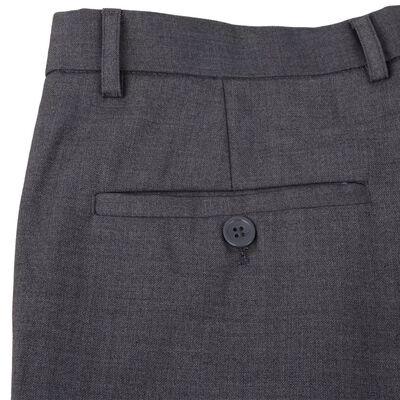 vidaXL Zakelijk pak tweedelig grijs mannen maat 50