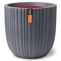 Capi Plantenbak Urban Tube 43x41 cm donkergrijs