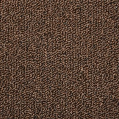 vidaXL Trapmatten 15 st 65x25 cm bruin