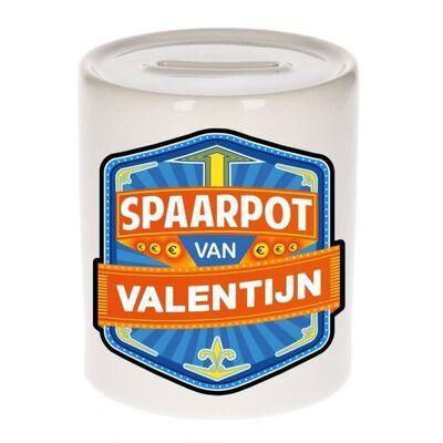 Kinder spaarpot voor Valentijn - keramiek - naam spaarpotten