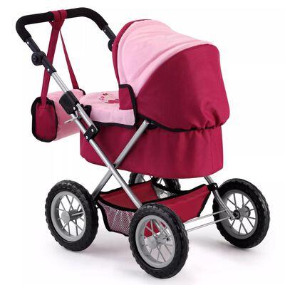Bayer poppenwagen Trendy rood/roze 67 cm