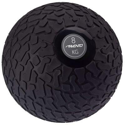 Avento Slambal structuur 8 kg zwart