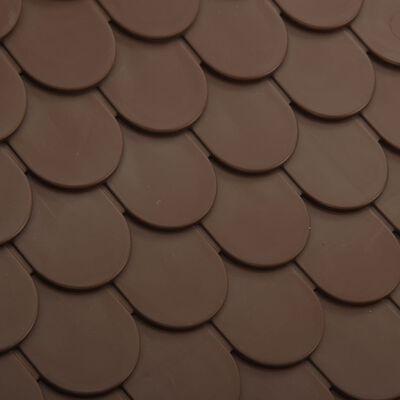 vidaXL Hondenhok 71x71,5x68 cm PP bruin
