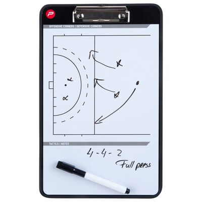 Pure2Improve Coach-bord dubbelzijdig hockey 35x22 cm P2I100660