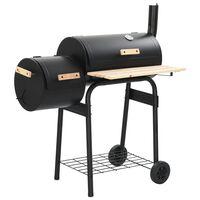 vidaXL Rookbarbecue houtskool