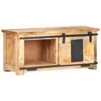 vidaXL Tv-meubel 90x35x40 cm massief mangohout