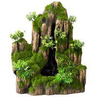 Aqua d'ella Aquarium waterval Moss Rock met 1 stroom 234/434963