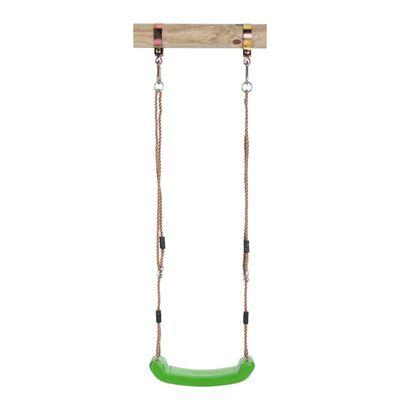Swing King Schommelzitje kunststof groen