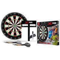 XQmax Darts Dartbord startset borstelhaar QD7000040