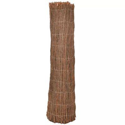 vidaXL Tuinomheining 400x150 cm rijshout