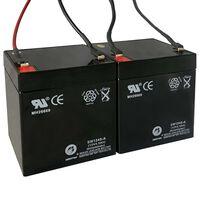 Vervangingsaccu's voor elektrische step 2 st 12 V 4,5 Ah