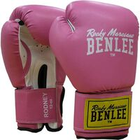 Bokshandschoenen Benlee Rodney 12oz roze/wit