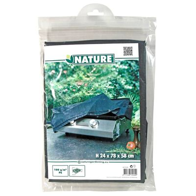 Nature Bakplaat/barbecuehoes 78x58x24 cm