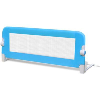 vidaXL Bedhekje peuter 102x42 cm blauw