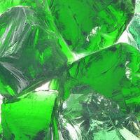 vidaXL Gabion stenen 25 kg groen 60-120 mm glas
