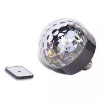 Party Fun Lights Bluetooth led Discobol Speaker met Afstandbediening