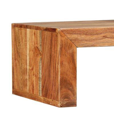 vidaXL Tv-meubel massief acaciahout