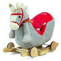hobbelfiguur Polly paard grijs/rood