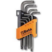 Beta Tools inbussleutel 8 st + torx profiel 97RTX/SC8 staal 000970263