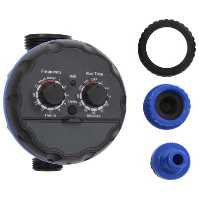vidaXL 142-delige Druppelbewateringsset automatisch met timer