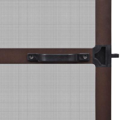 Hordeur met scharnieren bruin 120 x 240 cm