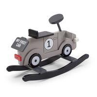 CHILDHOME Hobbelauto My First Car grijs en zwart