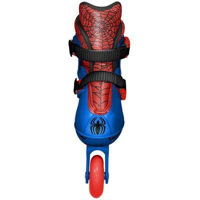 Marvel inlineskates Spider-Man jongens blauw/rood maat 27/30