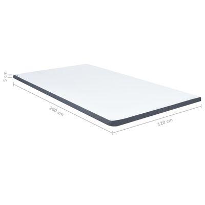 vidaXL Boxspringtopmatras 200x120x5 cm
