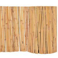 vidaXL Scherm 500x50 cm bamboe
