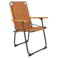 """Bo-Camp Folding Camping Chair """"Bushwick"""" Clay"""