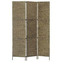 vidaXL Kamerscherm met 5 panelen 193x160 cm waterhyacint bruin