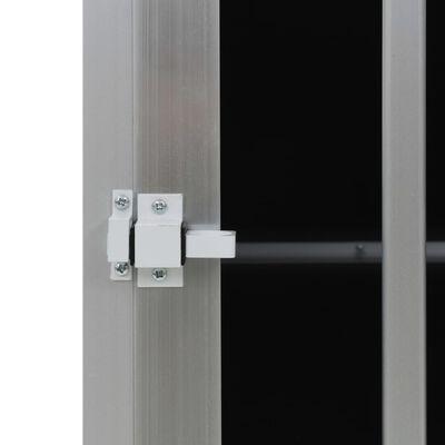 vidaXL Hondenbench met dubbele deur 89x69x50 cm