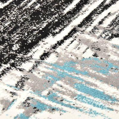 vidaXL Vloerkleed 140x200 cm PP blauw